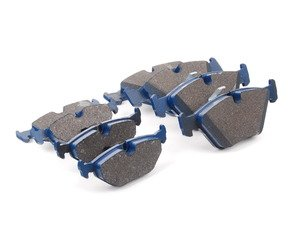 ES#2804497 - 7592-D947KT - Front And Rear Cool Carbon S/T Performance Brake Pad Set - All-in-one brake pads that deliver pure undiluted performance - Cool Carbon Performance - BMW