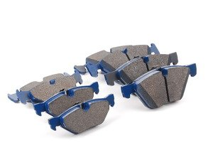 ES#2804505 - 7967-D1061KT - Front And Rear Cool Carbon S/T Performance Brake Pad Set - All-in-one brake pads that deliver pure undiluted performance - Cool Carbon Performance - BMW