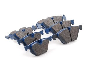 ES#2804506 - 7967-D1061KT1 - Front And Rear Brake Pad Kit - All-in-one brake pads that deliver pure undiluted performance - Cool Carbon Performance - BMW