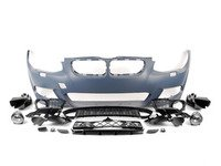 ES#2816797 - E92Mtechftlci - M-Sport Style Front Bumper Conversion - New M-Sport style front bumper, primed and ready for paint - ECS - BMW