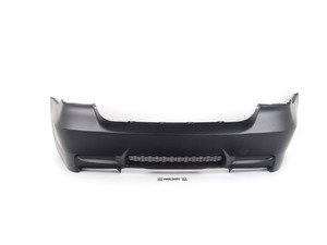 ES#1884488 - E90M3RRBUMP2 - M3 style rear bumper - Dual exhaust - Give your BMW the look of the M3 with this bumper conversion - ECS - BMW