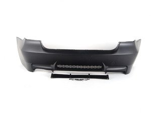 ES#1884492 - E90M3RRBUMP - M3 Style Rear Bumper - single Exhaust - Give your BMW the look of the M3 with this bumper conversion - ECS - BMW