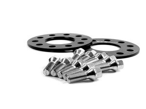 ES#2568311 - 6-ECS-015 -  Wheel Spacer & Bolt Kit - 5mm With Conical Seat Bolts - Complete kit for two wheels, comes with everything you need to install spacers on your aftermarket wheels - ECS - Audi