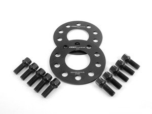 ES#2748278 - 6-ECS-015 - Wheel Spacer & Bolt Kit - 5mm With Black Ball Seat Bolts - Get the right size wheel spacer for your Audi - ECS - Audi