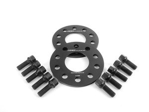 ES#2748280 - 6-ECS-018 - Wheel Spacer & Bolt Kit - 8mm With Black Ball Seat Bolts - Add some flair to your Audi with our new wheel spacers - ECS - Audi