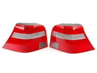 ES#7747 - 1J6945095BS096bb - Ocean Style Tail Light - Pair - Tail lights from the European Ocean Edition model with clear turn signal lenses - Genuine European Volkswagen Audi - Volkswagen