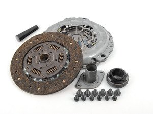 ES#3106554 - ks5b8hdoKT - Stage 2 Daily Clutch Kit - Designed for the daily-driven, weekend track warrior. Conservatively rated at 395ft/lbs. - South Bend Clutch - Audi