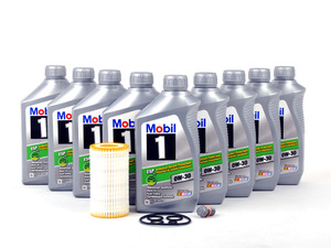Ecs news mercedes benz w203 c class oil service kits for Mercedes benz engine oil specifications