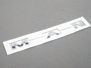 "ES#2642004 - 51149811766 - ""Man"" Model Lettering For Paceman - Mounts to the trunk lid  - Genuine MINI - MINI"