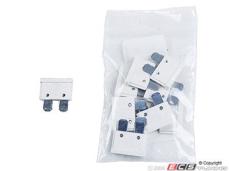ES#7700 - AT025-10 - Standard Blade Style Fuse-25 Amp - Pack of 10 ATO style fuses - Flosser - Audi BMW Volkswagen MINI Porsche