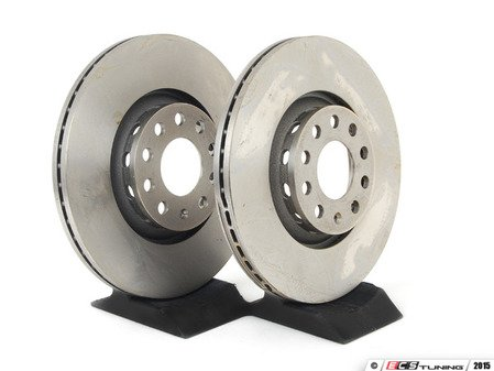 ES#514337 - 8E0698301RKT1 - Front Brake Rotors - Pair (312x25) - Restore stopping power in your vehicle - ATE - Audi Volkswagen