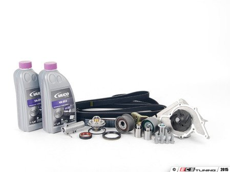 ES#8785 - 077198508 - ECS Tuning Timing Belt Kit - Ultimate Plus - The ultimate 23 piece kit for preventative maintenance! - Assembled By ECS - Audi