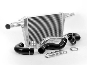 ES#2598850 - Fminta42tBlk - Front Mount Intercooler Kit - Black Hoses - Increase horsepower and torque with reduced intake temperatures - Forge - Audi