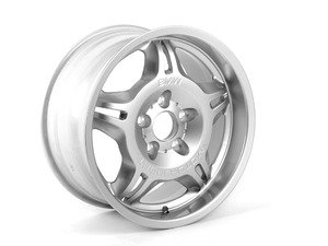"ES#64623 - 36112227360 - 17"" Star Spoke Style 24M Wheel - Priced Each - 17x8.5 ET41 72.6CB - Genuine BMW - BMW"