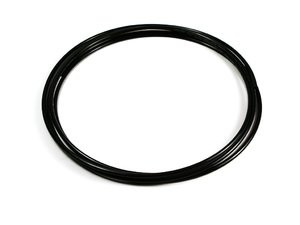 ES#7753 - 5097t321-8ft-a - Plastic Vacuum Tubing Kit - black - 8 Feet - Great to use for running vacuum tubing inside car for your boost gauges. 2.3mm - ECS - Audi BMW Volkswagen