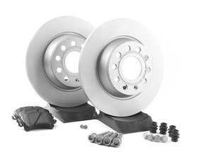 ES#2762491 - 1K0698451LKT - Rear Brake Service Kit (282x12) - Featuring genuine service parts - Genuine Volkswagen Audi - Volkswagen