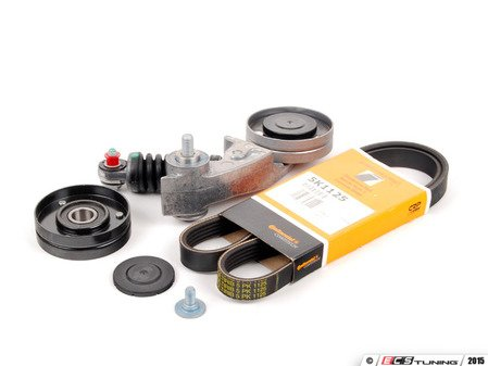 ES#2763635 - 079903133ALKT2 - Accessory Belt Kit - Keep your accessories running properly with a new tensioner, drive belt, & roller - Assembled By ECS - Audi