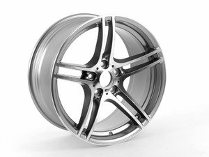 "ES#2079932 - 36117844344 - Style 313 wheel - 19"" x 9"" ET39 (Price is per wheel) - Genuine BMW - BMW"