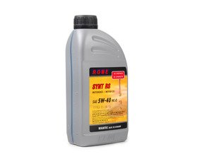 ES#2808530 - 21063-173-03 - HighTec Synt RS Engine Oil (5w-40) - 1 Liter - High performance engine oil for gasoline or diesel engines offering extended drain interval potential - ROWE - Audi BMW Volkswagen Mercedes Benz