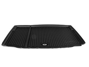 ES#2634338 - 51472304739 - MINI Logo Cargo Liner Rubber - Black - Keep your MINI trunk clean and tidy : Level cargo floor - Genuine MINI - MINI