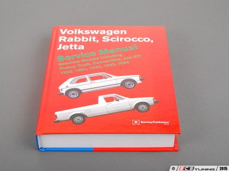 ES#262944 - VRG4 - MKI (80-84) Service Manual - Paperback (Gasoline) - All the information you need to repair your MKI properly - Bentley - Volkswagen