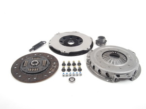 ES#2770848 - 000282ECS01KT -  Performance Flywheel & Valeo Clutch Kit - Improve throttle response, acceleration and clutch feel - the perfect setup for daily-driven vehicles with up to 400lbs-ft of torque - ECS - BMW