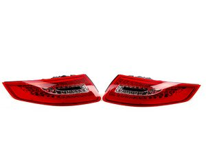 ES#2804106 - D48-1901P-AE-CR - Red/Clear LED Tail Light Set - 997.2-style LED tail lights for your 997.1 911! - Depo - Porsche