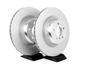 ES#2786513 - 34216795318KT - Rear Brake Rotors - Pair (385x24) - A pair of genuine replacement rotors - Genuine BMW - BMW