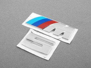 ES#2763028 - 51142694404kt - M5 Replacement Emblem Set  - Replace the chipped and pealing badges on your trunk - Genuine BMW - BMW