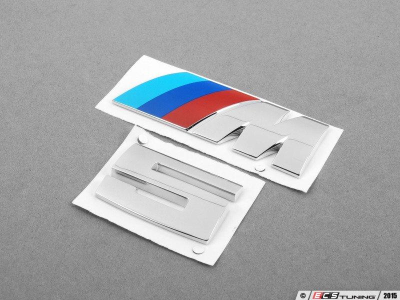 Genuine Bmw 51142694404kt M5 Replacement Emblem Set