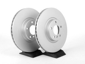 ES#2707994 - 34116793244KT3 - Front Brake Rotors - Pair (348x30) - Featuring a protective Meyle Platinum coating - Meyle - BMW
