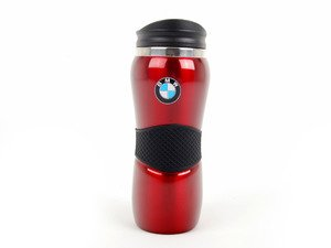 ES#1885127 - 80900440458 - BMW Travel Mug - Red - Keep your beverage warm and show your BMW pride - Genuine BMW - BMW