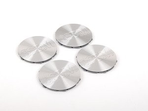 ES#2703012 - 3SDMCAP - 3SDM Center Caps - Silver - Set Of Four - Replacement center caps for your 3SDM Style 0.05/0.06 wheels, and the small internal cap on the 0.04 - 3SDM - Audi Volkswagen