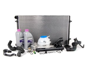 ES#2765578 - MKIVR32COOLKT2 - ECS Cooling System Refresh Kit With Black ECS Water Pipe - Kit assembled with all the usual wear items in the cooling system to keep your engine at optimum temperature. - Assembled By ECS - Volkswagen