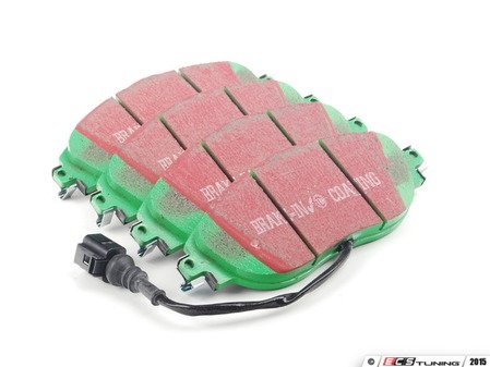 ES#2621155 - DP22127 - Front GreenStuff Performance Brake Pad Set  - Mildly upgraded composite pad. - EBC - Audi Volkswagen