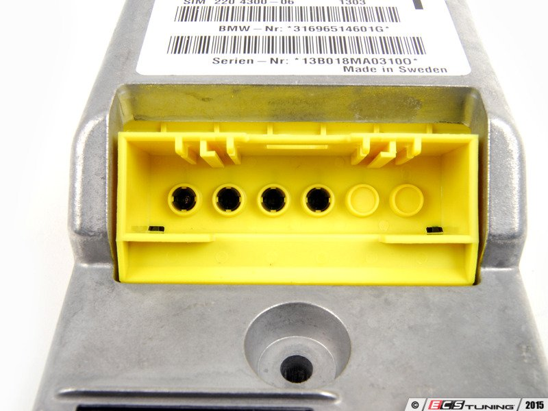 Genuine Bmw 65776965146 Airbag Control Unit