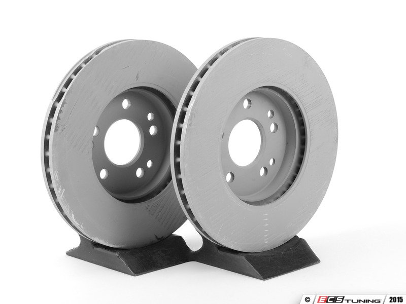 Genuine mercedes benz 1244212612kt1 front brake rotors for Mercedes benz rotors and pads