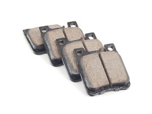 ES#2708221 - 0034203020 - Rear Euro Ceramic Brake Pad Set - Does not include new pins or hold down spring - Akebono - Mercedes Benz