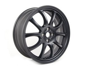 "ES#65060 - 36116778428 - R105 JCW Double Spoke Wheel 18"" (4x100) Black - Priced Each - 18 x 7J ET:52 Ronal wheel - Genuine MINI - MINI"