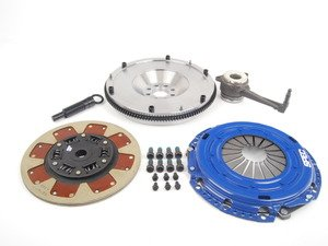 ES#2575820 - SV872-281SKIT - Stage 2 Clutch Kit - Steel Flywheel (16lbs) - Streetable clutch holds up to 410 FT LBS TQ - Spec Clutches - Volkswagen