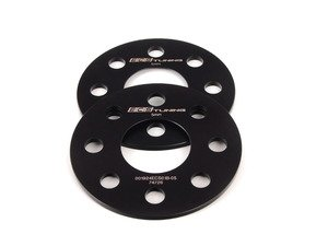 ES#2723044 - 001924ECS01B05KT - ECS Wheel Spacers - 5mm (Pair) - Aluminum wheel spacers, made specifically for your MINI's 4x100 bolt pattern - ECS - MINI