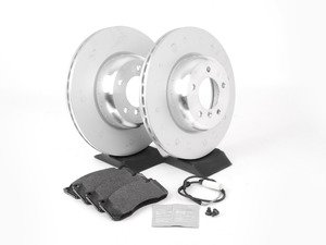 ES#2713376 - 34116778647KT2 - Front Brake Service Kit - Featuring OEM BMW rotors and OEM BMW pads - Genuine BMW - BMW