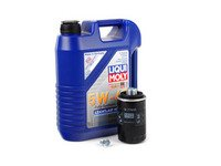 ES#2817348 - 2332KT7 - premium Oil Service Kit  - Includes Mann oil filter and Liqui-Moly High Tech 5w-40 oil - Assembled By ECS - Audi