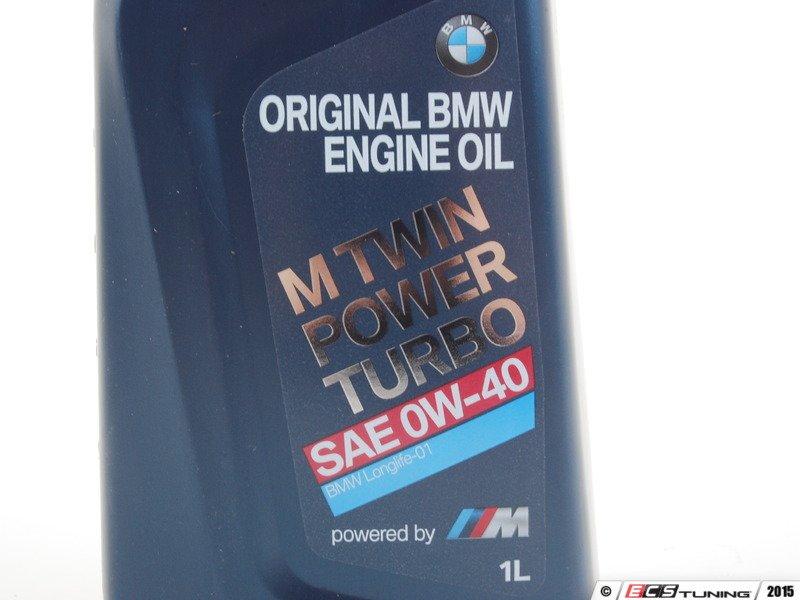 Genuine BMW  83212365945  M TwinPower Turbo 0W40 Engine Oil  1