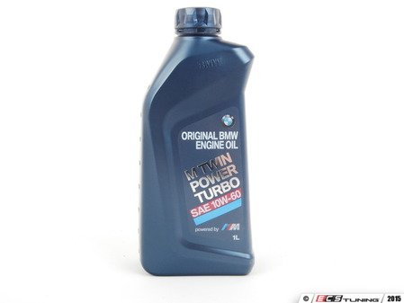 ES#2817516 - 83212365944 - M TwinPower Turbo 10W-60 Engine Oil - 1 Liter - Original BMW oil for use in many M vehicles with S38, S54, S62, S65, S85 engine. Next generation replacement for BMW's TWS 10w-60 oil offering superior protection and performance in both turbocharged and non-turbocharged engines. - Genuine BMW - BMW
