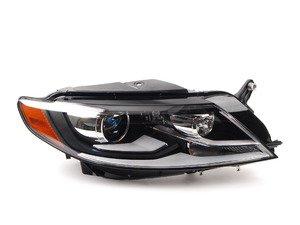 2013 vw cc headlight