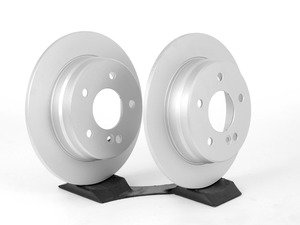 ES#2738438 - 2024230012KT4 - Rear Brake Rotors - Pair - Includes left and right front brake rotors - Meyle - Mercedes Benz