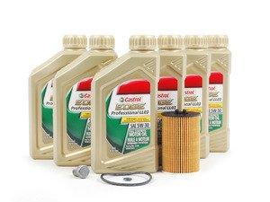 ES#2827051 - MK7TDIKT -  Genuine Oil Service Kit - Includes Genuine oil filter and Genuine 5w-30 oil - Genuine Volkswagen Audi - Audi Volkswagen