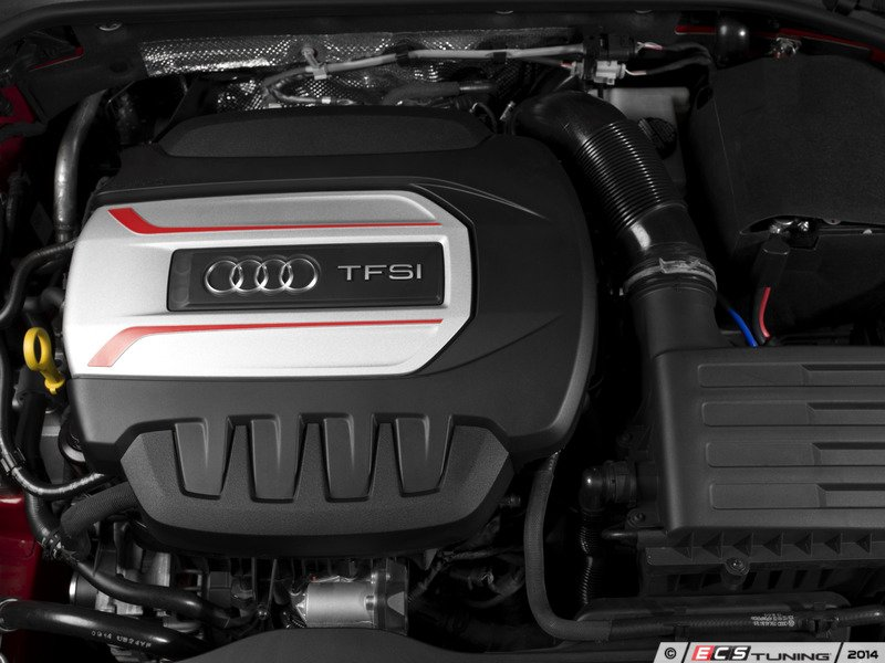 What Does Gti Stand For >> Genuine Volkswagen Audi - 06K103925EKT - S3 Engine Cover Conversion Kit