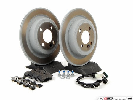 ES#2597671 - 34116855781KT10 - Rear Brake Service Kit - JCW - All you need to replace your brake pads and rotors - Genuine MINI - MINI
